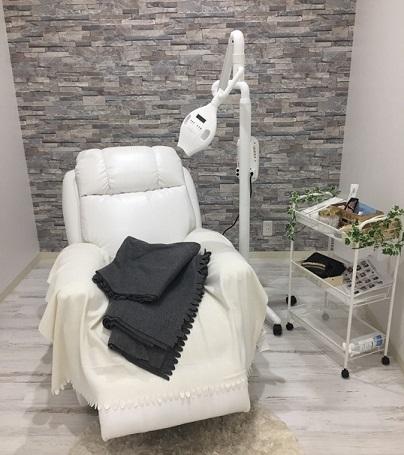 セルフホワイトニングの椅子